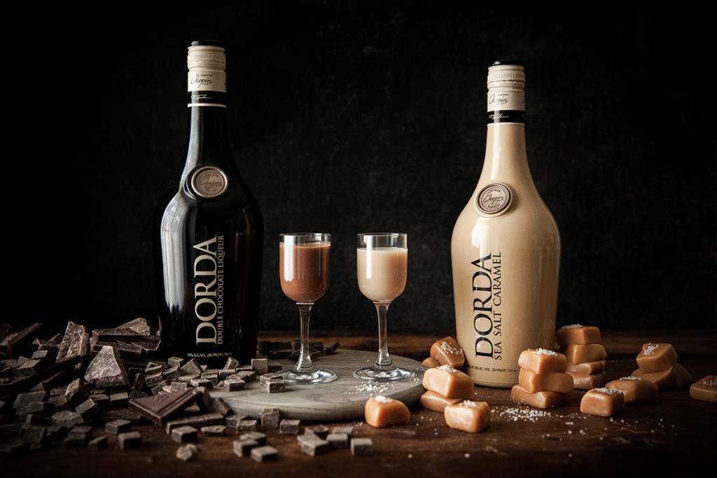 Dorda Liqueur and Dorda Sea Salt Caramel Liqueur